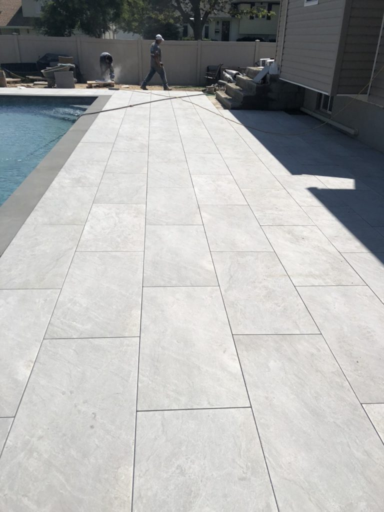 bluestone with basic pattern