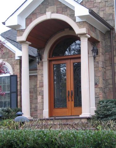 custom door entrance