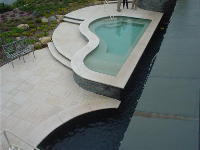 radius spa coping