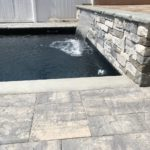 spillway with pool modern
